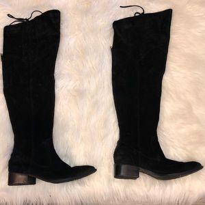 NWOT Born Crown Suede Black Boots